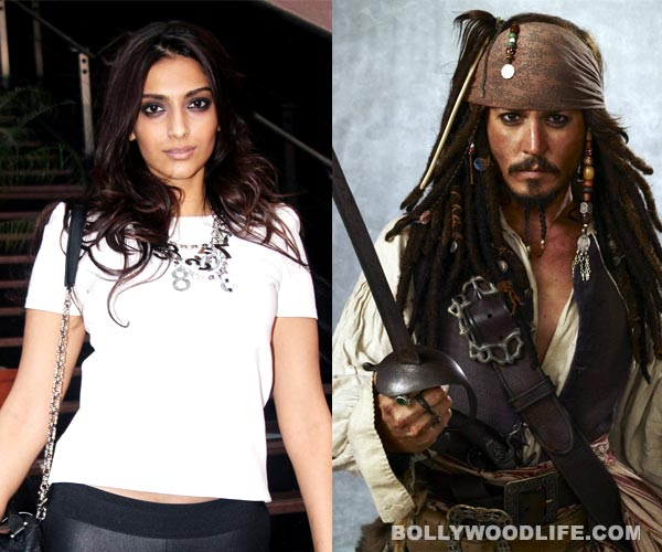 Sonam Kapoor and Johnny Depp in Pirates of the Caribbean 5...really?