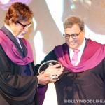 Amitabh Bachchan honoured by Subhash Ghai's Whistling Woods International: see pics
