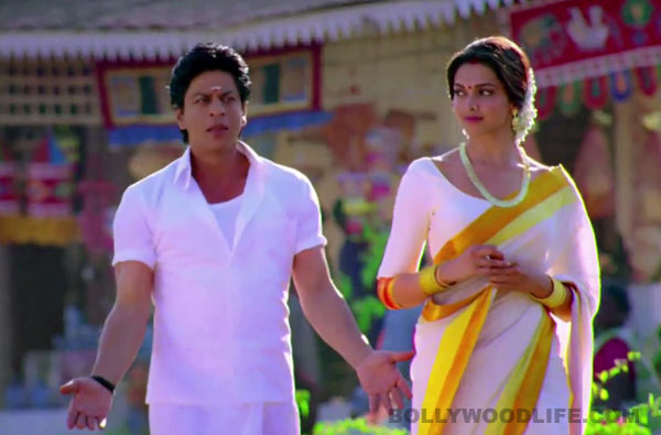 What does Shahrukh Khan want from Deepika Padukone?