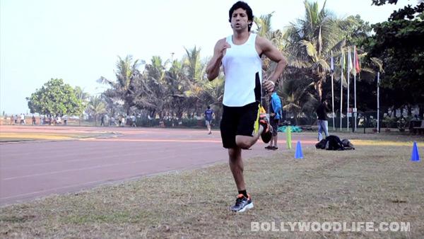 Bhaag Milkha Bhaag making video: Farhan Akhtar trains till he drops!
