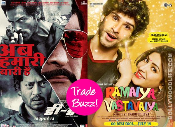 Trade Buzz: D-Day or Ramaiya Vastavaiya – which movie will you watch this week?