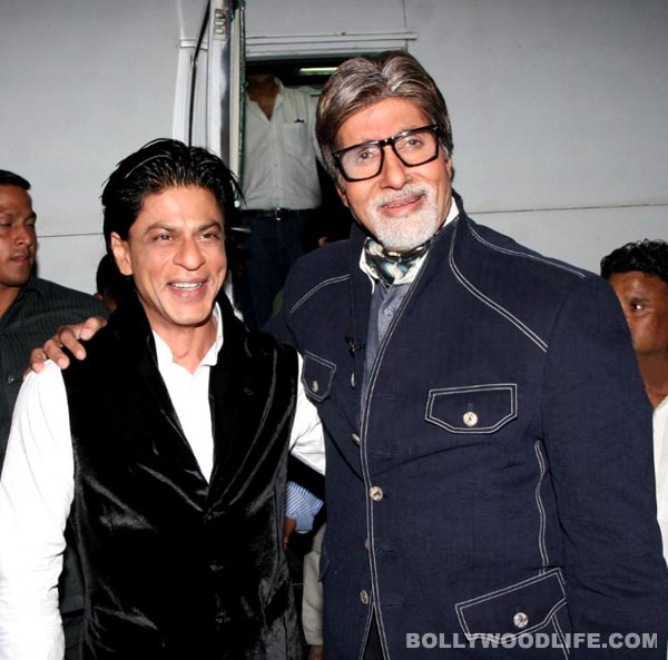 Shahrukh Khan and Amitabh Bachchan to celebrate 100 years of Indian cinema