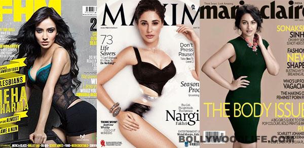 July covers: Neha Sharma, Nargis Fakhri, Sonakshi Sinha turn up the heat!