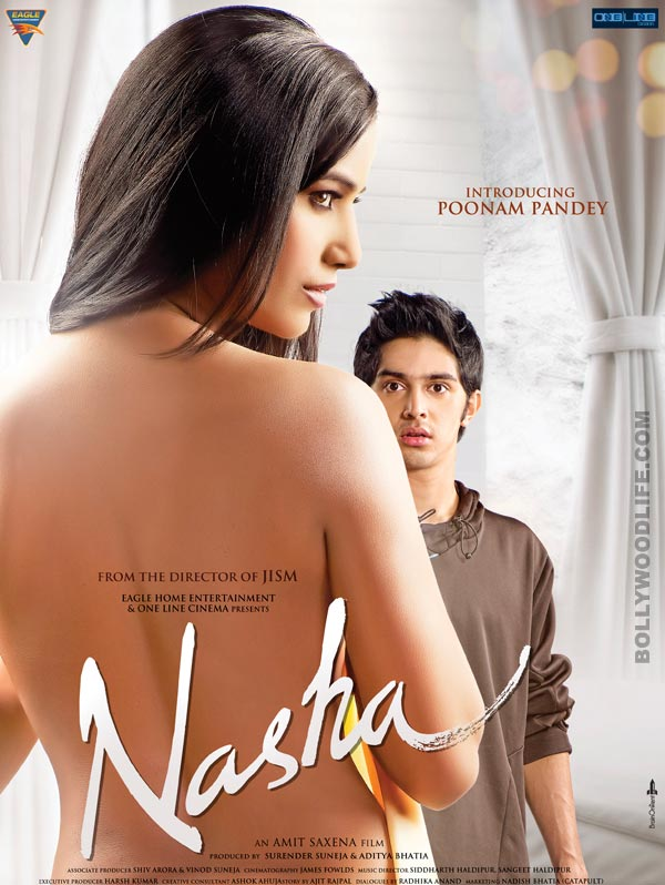 Nasha new poster: Poonam Pandey makes a bare-back statement!