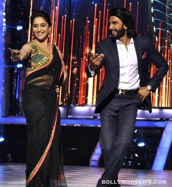 Madhuri Dixit and Ranveer Singh won't groove together in Ram Leela!