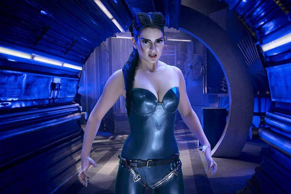 How did Kangna Ranaut attain her look in Krrish 3?