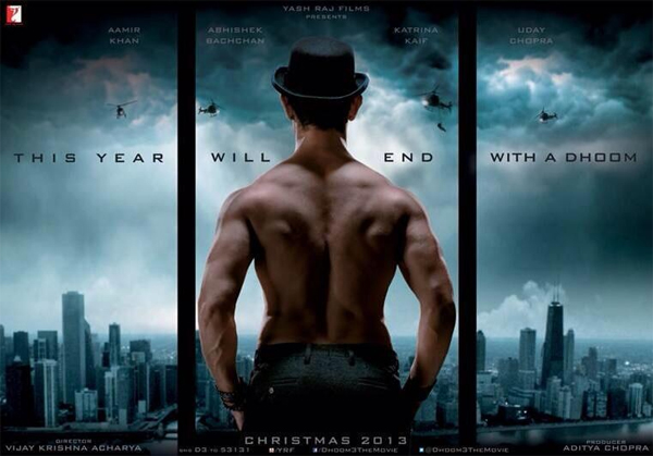 Aamir Khan's Dhoom 3 motion poster - not exciting enough!