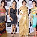 Lakme Fashion Week 2013: Karisma Kapoor, Genelia D'Souza, Aditi Rao Hydari, Pallavi Sharda – who is the most stylishly dressed lady of the lot?