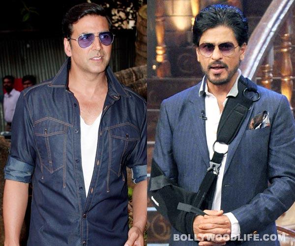 Shahrukh Khan and Akshay Kumar's war on small screen?