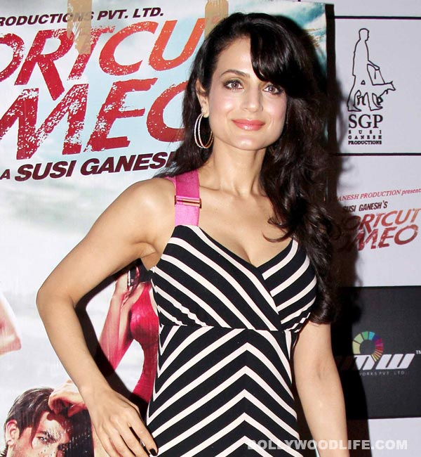Is Ameesha Patel already a mother?