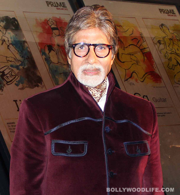 Amitabh Bachchan stands up for a good cause