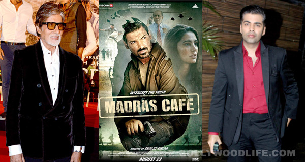Why did Mardas Café impress Amitabh Bachchan?