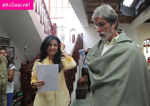 Amrita Rao: I am not intimidated by Amitabh Bachchan!