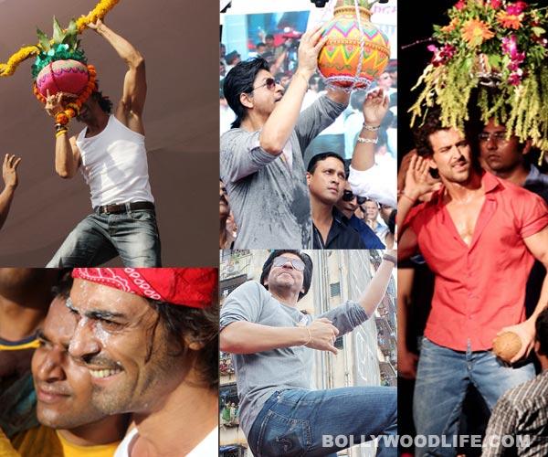 Janmashtami moods & moments: Shahrukh Khan, Hrithik Roshan, Arjun Rampal at their candid best!