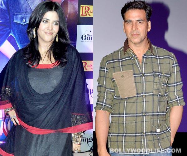 Is Ekta Kapoor upset with Akshay Kumar?