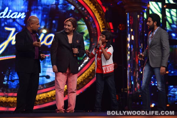 Indian Idol Junior: Sukhwinder Singh shakes a leg with Vishal-Shekhar