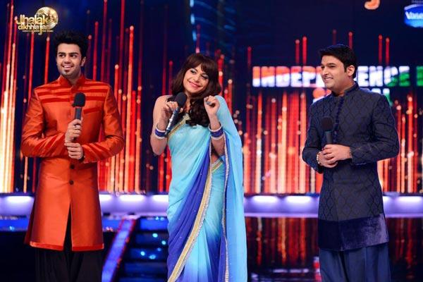 Jhalak Dikhhla Jaa 6: Mrs Pammi Pyarelal joins Manish Paul and Kapil Sharma