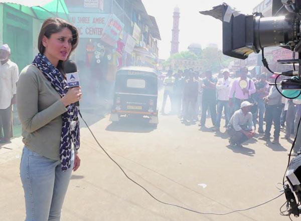 Is Kareena Kapoor a convincing reporter?: Watch video!