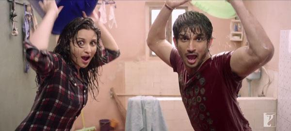 Parineeti Chopra and Sushant Singh Rajput shoot a new song for Shuddh Desi Romance