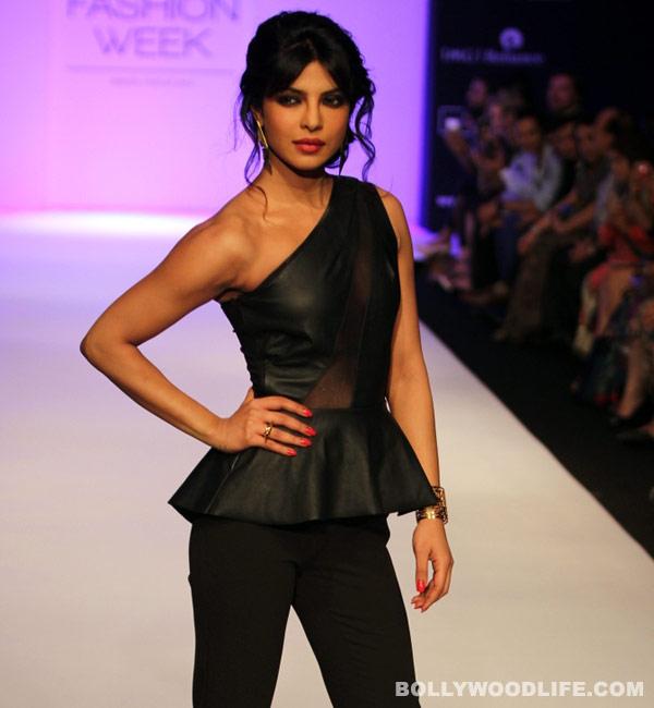 LFW 2013: Did Priyanka Chopra leave you spellbound in her all black avatar?