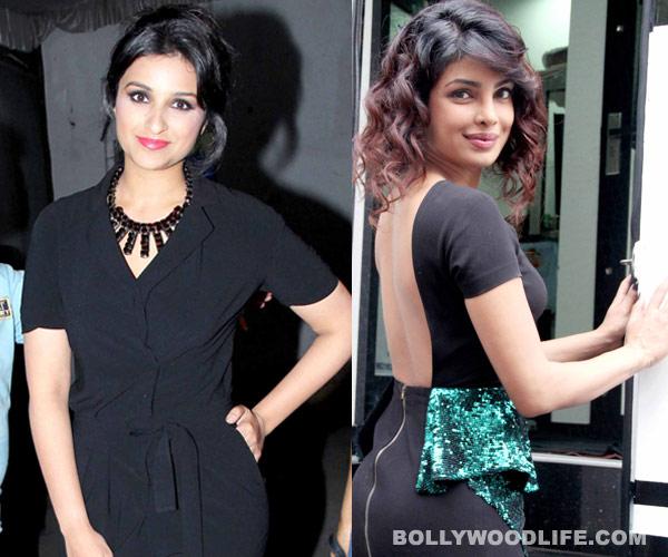 Are Priyanka Chopra and Parineeti Chopra at war? View pics!