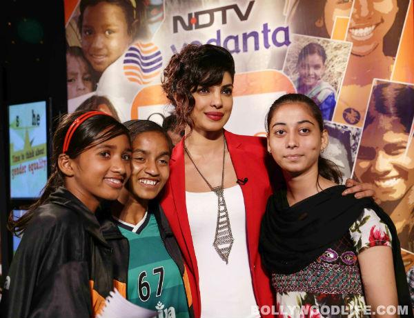 Priyanka Chopra: Not every girl child is as lucky as me!