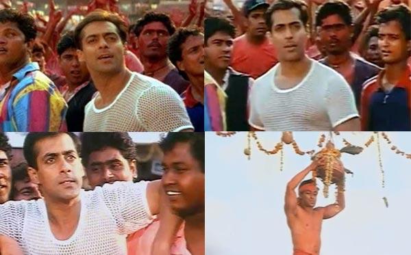 Why is Rani Mukerji calling Salman Khan a tapori?