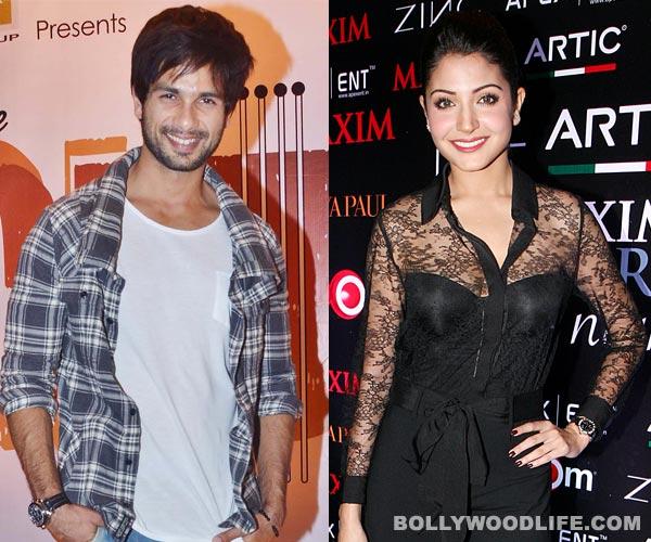 Shahid Kapoor wants to romance Anushka Sharma!