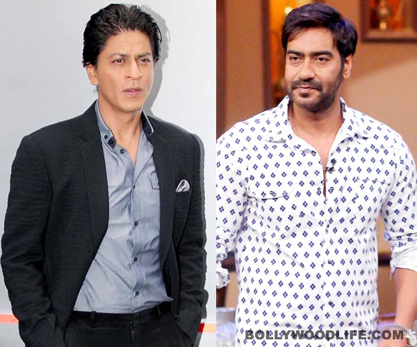 Does Shahrukh want to be friends with Ajay Devgn?