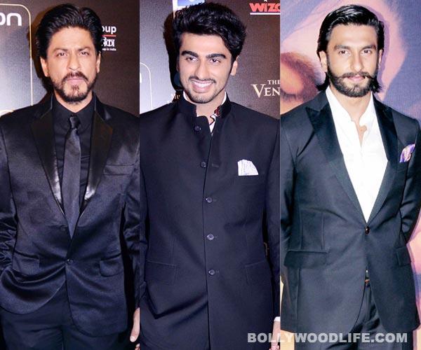 Shahrukh Khan, Ranveer Singh and Arjun Kapoor indulge in 'boy' talk!