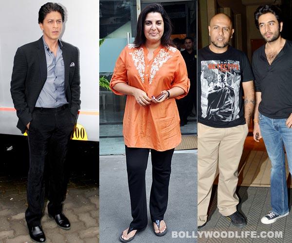 Have Shahrukh Khan and Vishal-Shekhar hugged and made up?