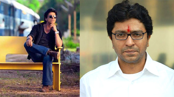 Shahrukh Khan and Raj Thackeray at war over Chennai Express!