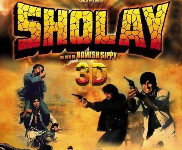 Amitabh Bachchan's special birthday gift: Sholay 3D!