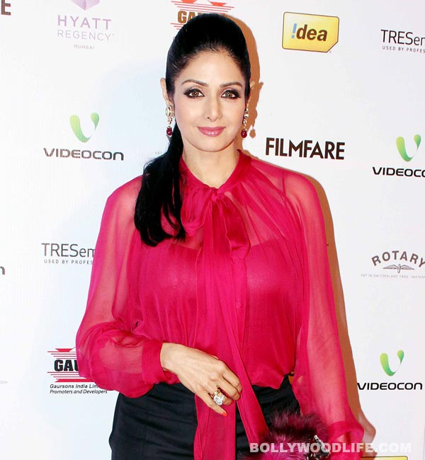 What birthday present does Sridevi want today?