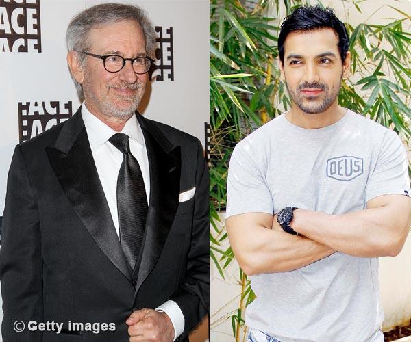 Steven Spielberg praises John Abraham