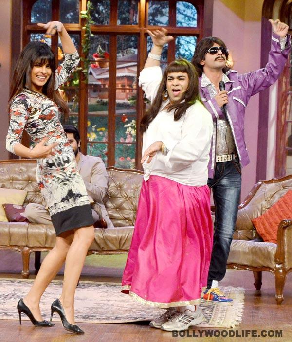 Why did Kapil Sharma compare Priyanka Chopra to Amitabh Bachchan?