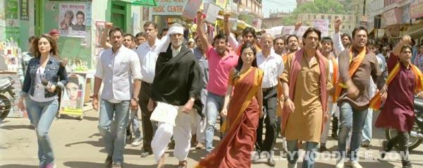 Satyagraha new trailer: Amitabh Bachchan, Ajay Devgn, Kareena Kapoor and Arjun Rampal stage a revolt!