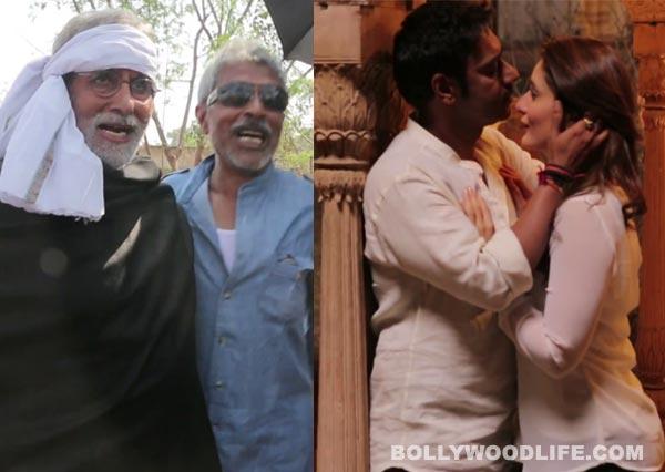 Satyagraha making: Ajay Devgn - Kareena Kapoor get romantic, while Amitabh Bachchan turns rowdy!