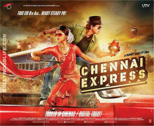 Chennai Express movie review by Variety: Shahrukh Khan not at his best!