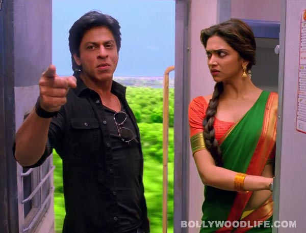 Chennai Express quick movie review: Shahrukh Khan overacts!