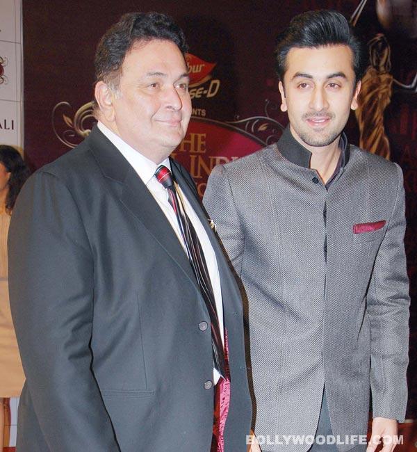Is Rishi Kapoor keeping tabs on Ranbir Kapoor?
