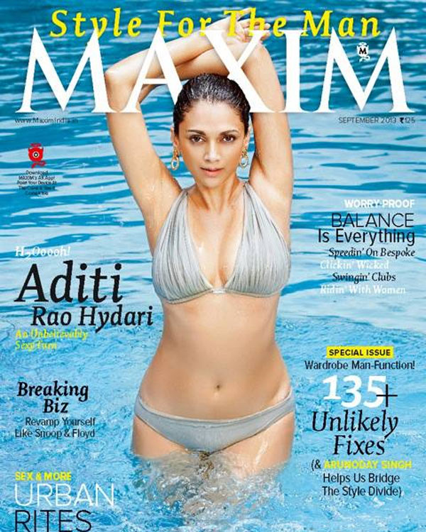 Aditi Rao Hydari hot in a bikini?