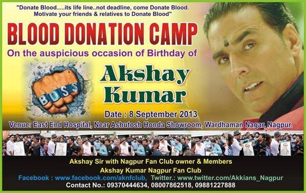 Akshay Kumar's fans celebrate his birthday the Boss way!