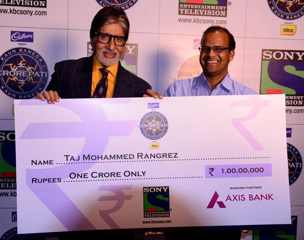 KBC 7: Amitabh Bachchan finds his first crorepati!