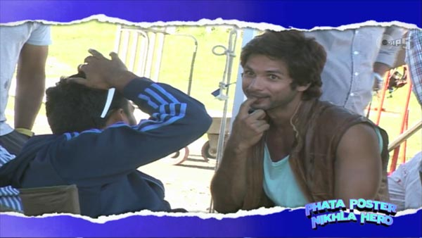 Phata Poster Nikhla Hero behind the scenes video: Shahid Kapoor shows his mimicry talent!
