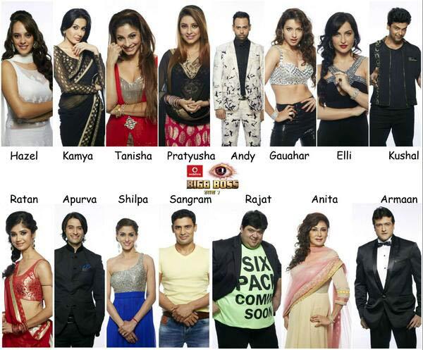 Bigg Boss 7 contestant list final: Pratyusha Banerjee, Kushal Tandon, Tanishaa Mukerji enter the house
