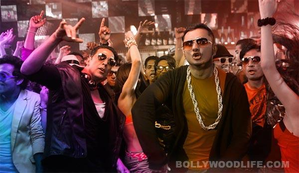 Why were Akshay Kumar & Yo Yo Honey Singh partying all night?