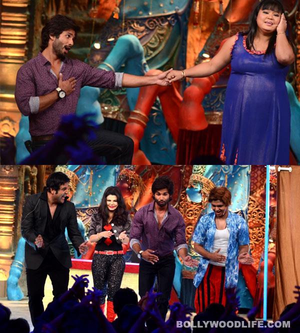 Comedy Circus Ke Mahabali: Why is Shahid Kapoor flirting with Bharti Singh?