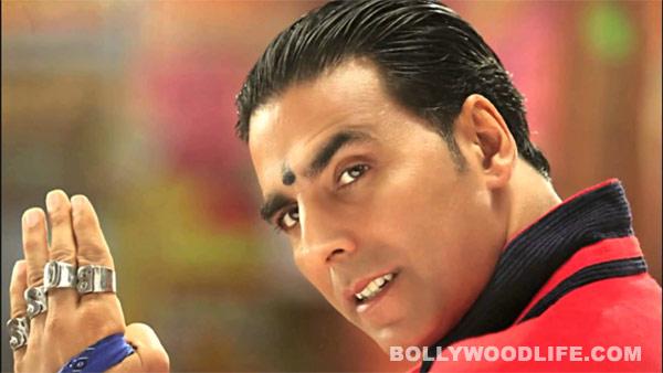 Who does Akshay Kumar want to beat up?