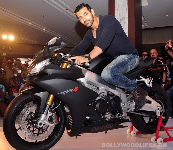 Do you want a ride with John Abraham?